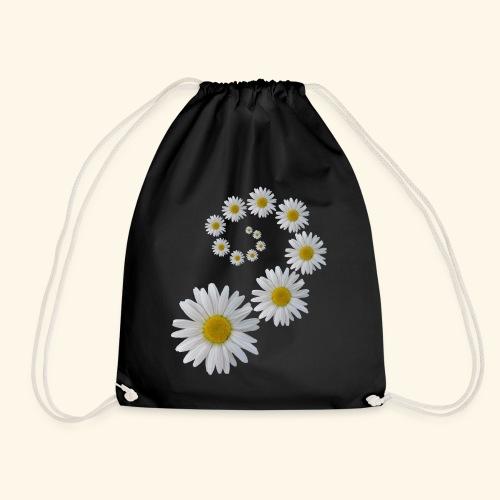 Margeriten Blume, Blumen, Blüte, floral, blumig - Turnbeutel