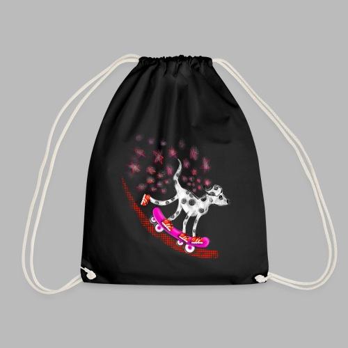 Spotty Skateboarder - Drawstring Bag