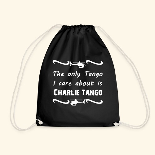 Charlie Tango - Drawstring Bag
