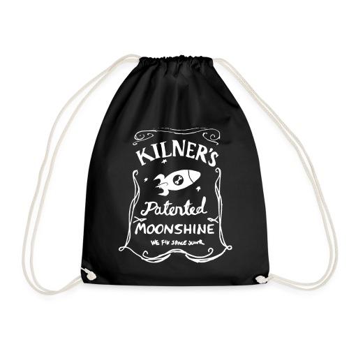 Kilner's Patented Moonshine (White) - Drawstring Bag