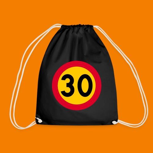 30 skylt - Gymnastikpåse