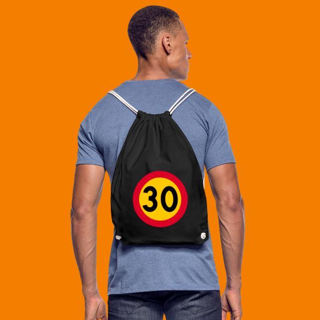 30 skylt