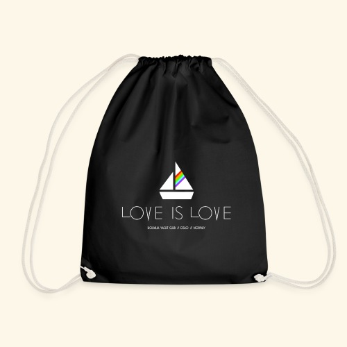 LOVE IS LOVE!!! - Gymbag