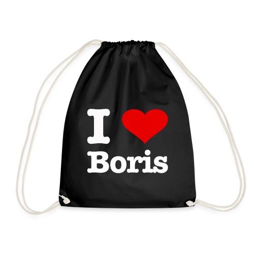 I love Boris - Turnbeutel
