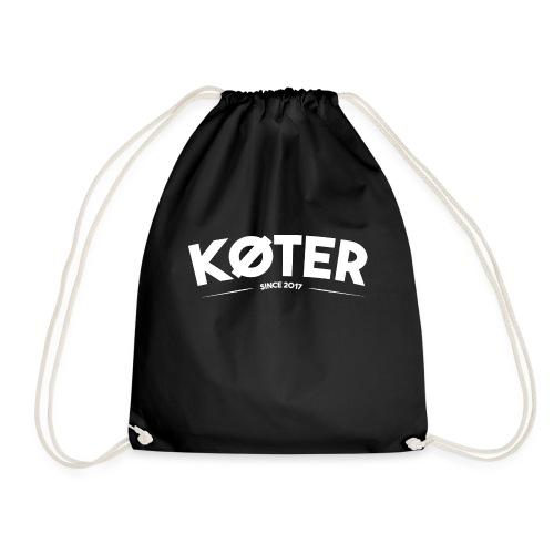 plyed logo koter withe - Turnbeutel