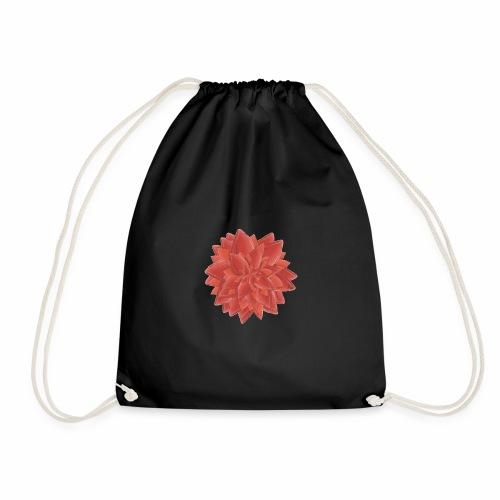 Red Flower - Turnbeutel