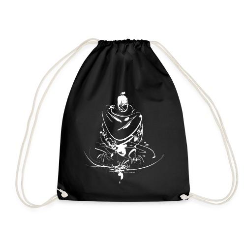 Iaido Samurai Zen Meditation - Drawstring Bag