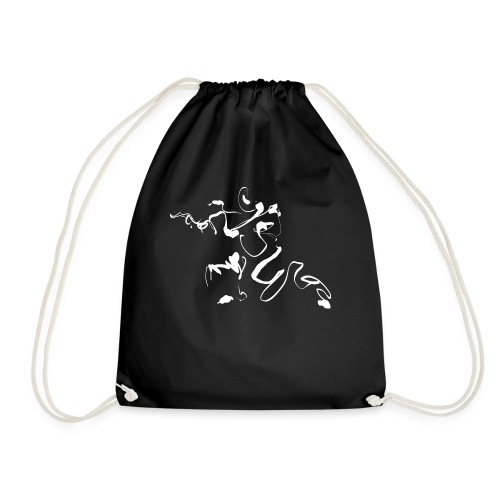 Kungfu - Deepstance Kung-fu figure - Drawstring Bag