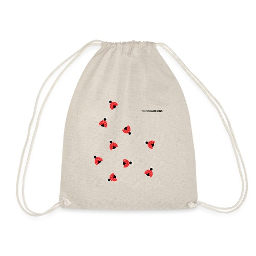 ladybird 2 design tc - Drawstring Bag