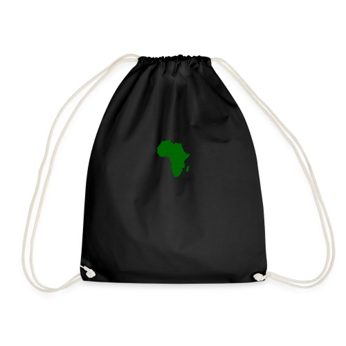 African styles green - Drawstring Bag