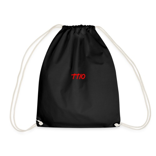 Troubled TV - Drawstring Bag