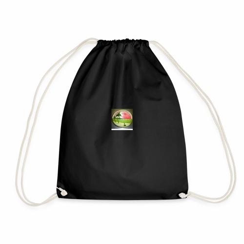 melon view - Drawstring Bag