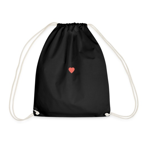Heart - Drawstring Bag