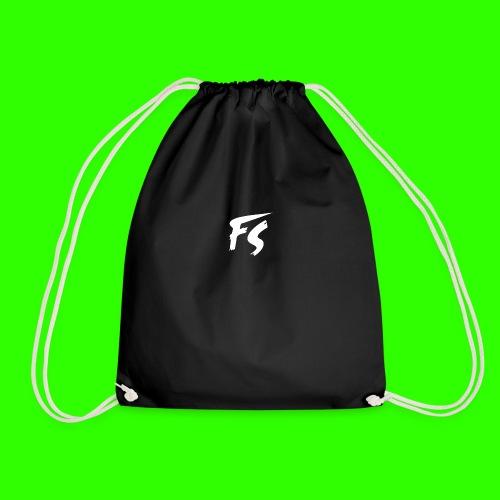 FS Logo wit - Gymtas