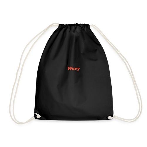 Wavy - Drawstring Bag