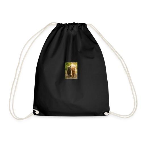 Tabby cat - Drawstring Bag