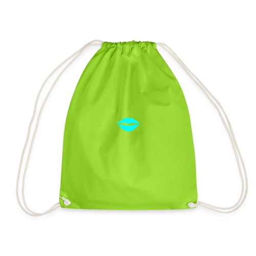 Blue kiss - Drawstring Bag