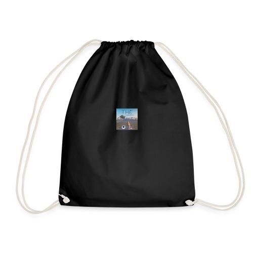 my first official logo - Drawstring Bag