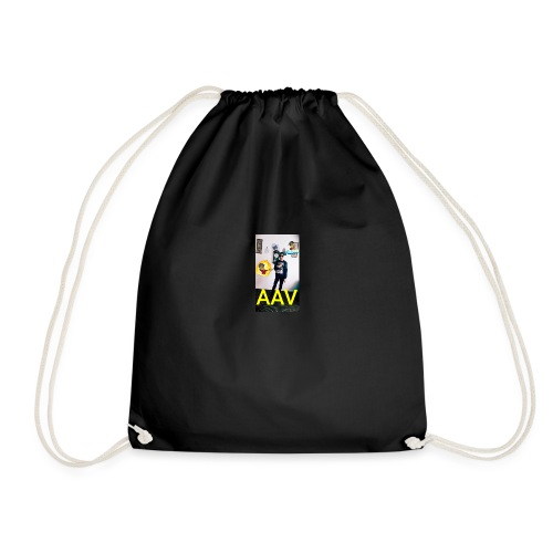Adam Ali Vlogs Design 1 - Drawstring Bag