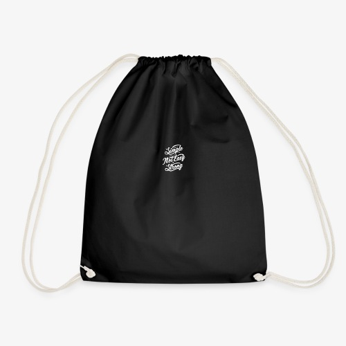 Life Is Simple Its Just Not Easy Be Strong - Sac de sport léger