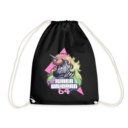 Super KILLER UNICORN 64 - Drawstring Bag