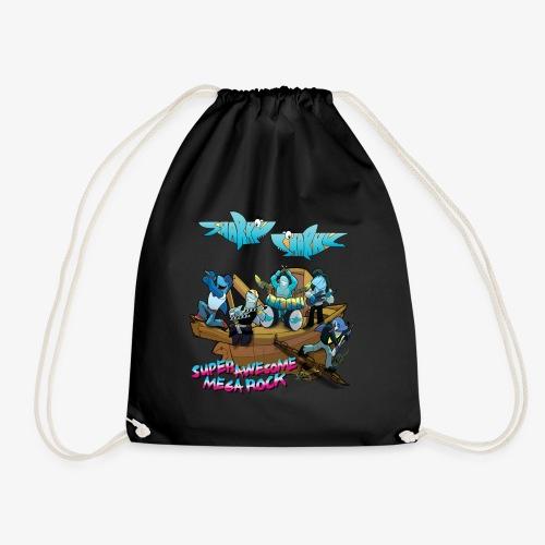 SUPER AWESOME MEGA ROCK - Drawstring Bag