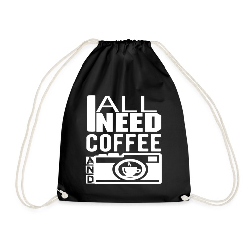 All i need is coffee and my camera - Sac de sport léger