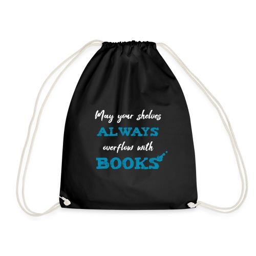 0038 author | Writer | Book blogger | reader - Drawstring Bag