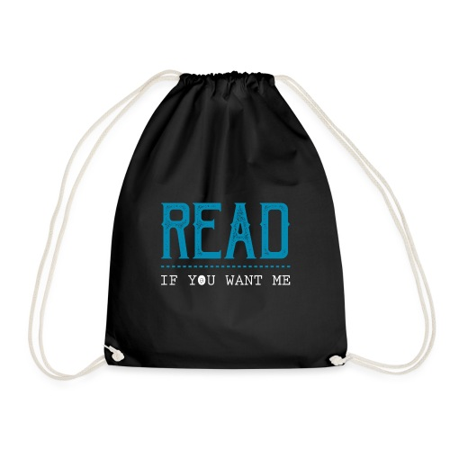 0047 reading | Desire | Eroticism | Book | bookworm - Drawstring Bag