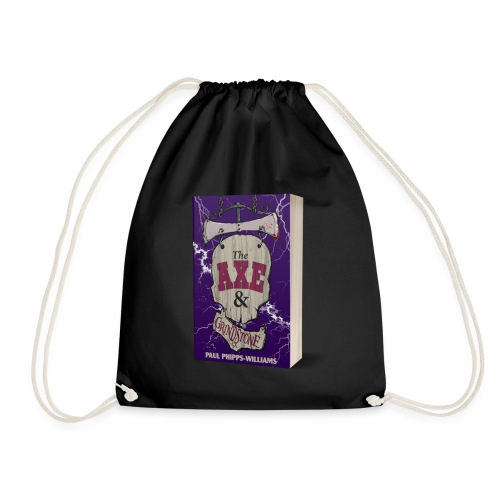 The Axe & Grindstone Cover - Drawstring Bag