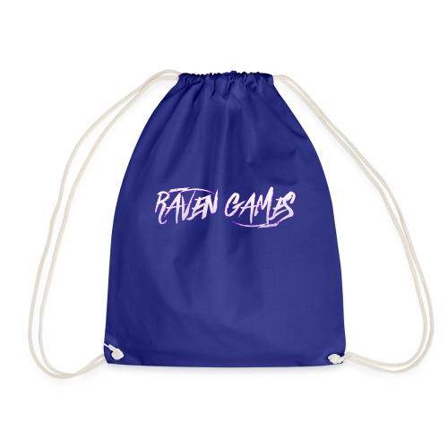 Raven Games Main Logo - Drawstring Bag