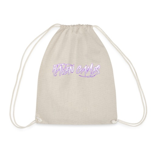 Raven Games Main Logo - Drawstring Bag