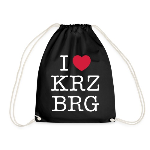 I love KRZBRG - Turnbeutel