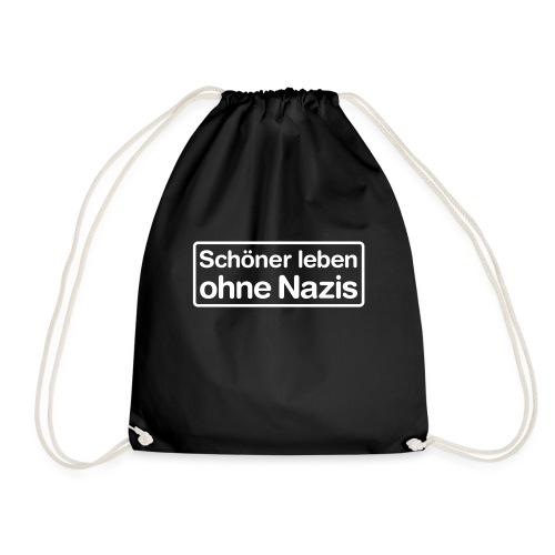 Schöner leben ohne Nazis - Turnbeutel