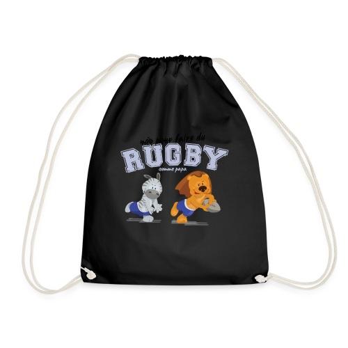 rugby_comme_papa - Sac de sport léger