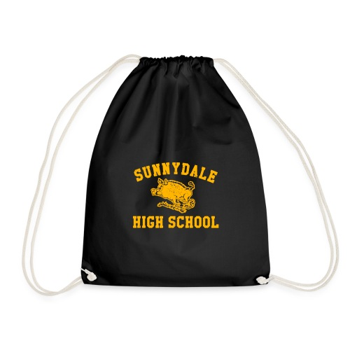 Sunnydale High School logo merch - Drawstring Bag