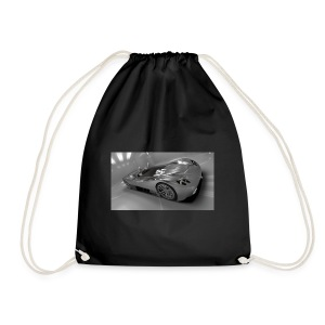 sports race car design - Drawstring Bag