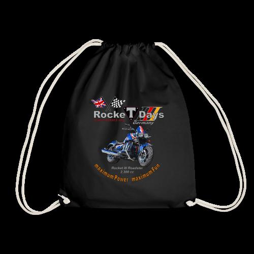Rocketdays Rocket III Roadster blau rot - Turnbeutel