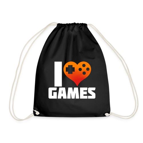 I <3 Games - Turnbeutel