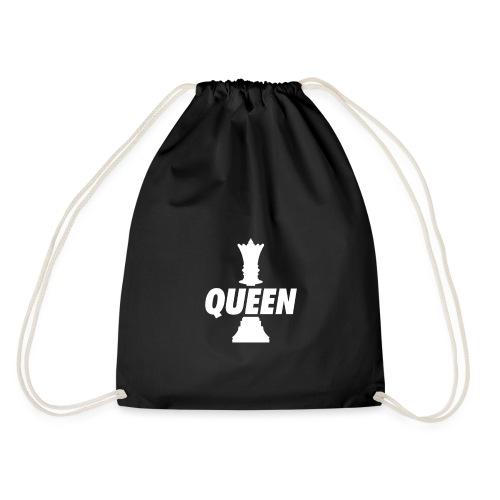 Queen (Weiß) - Turnbeutel