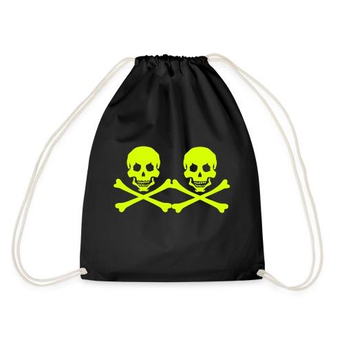 pirateskull - Drawstring Bag