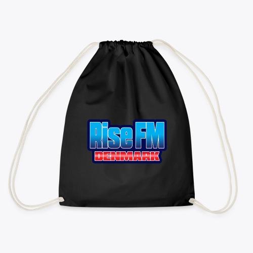 Rise FM Denmark Text Only Logo - Sportstaske