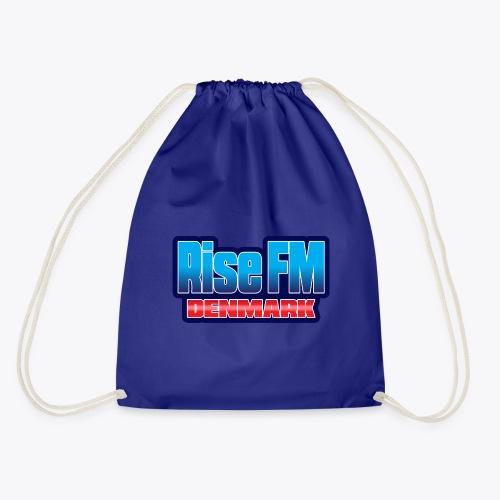 Rise FM Denmark Text Only Logo - Drawstring Bag