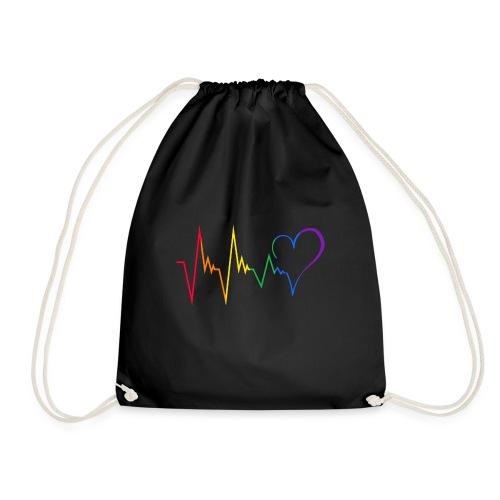 Heartbeat - Turnbeutel