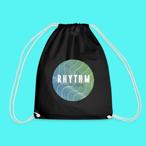 Rhythm On The Run Logo - Drawstring Bag
