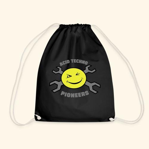 ACID TECHNO PIONEERS - SILVER EDITION - Drawstring Bag