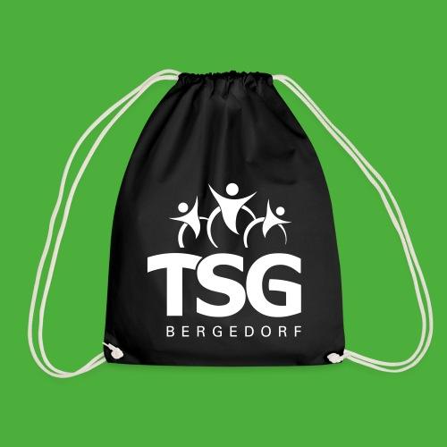 TSG Logo weiß - Turnbeutel