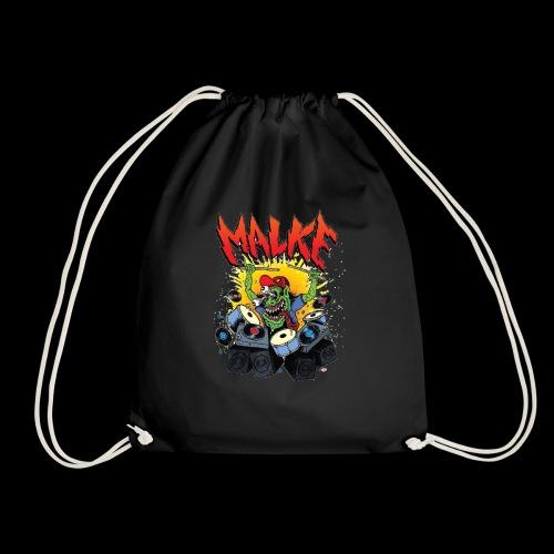 Malke - Man Premium White - Monster - Black - Mochila saco