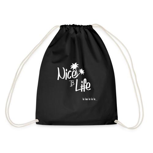 Nice is life Blanc - Sac de sport léger