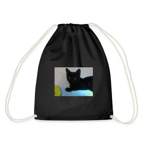 gato negro - Mochila saco